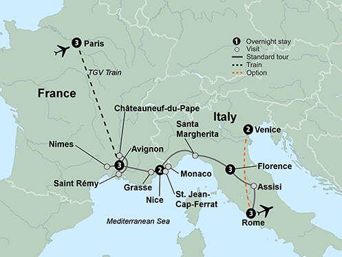 France & Italy