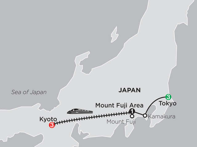 Classic Japan: The Golden Route
