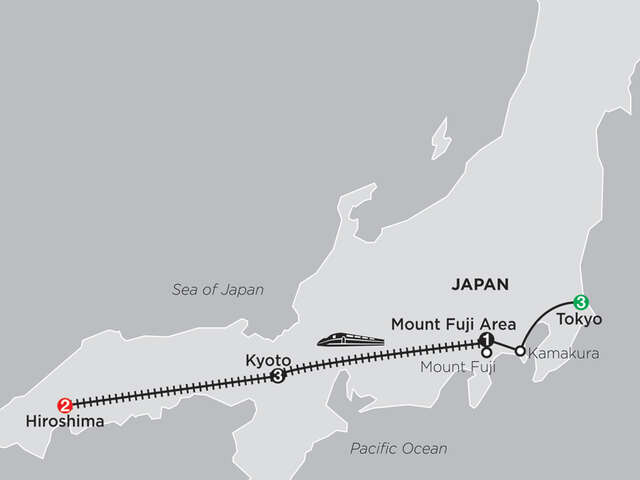 Classic Japan: The Golden Route with Hiroshima