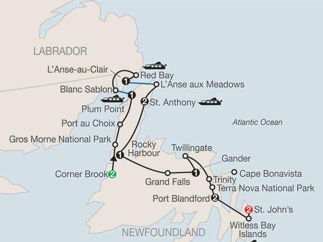 Newfoundland & Labrador with Iceberg Festival