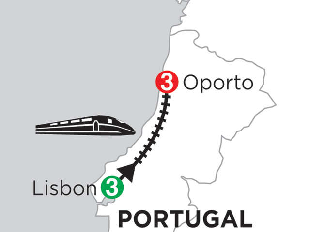 3 Nights Lisbon & 3 Nights Oporto