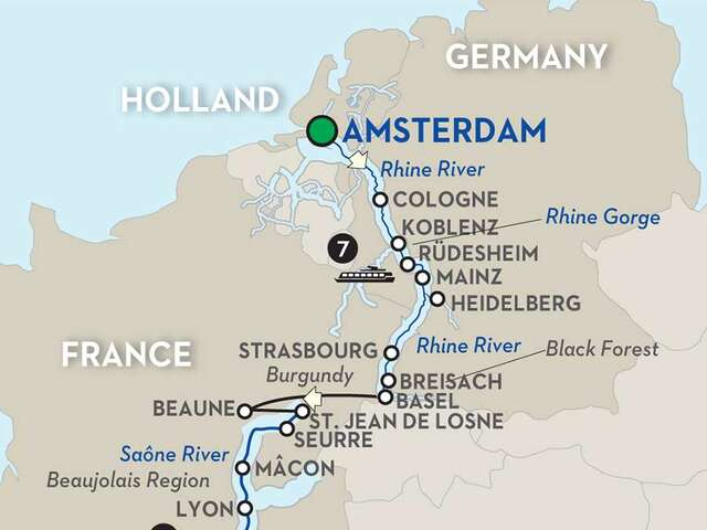 Rhine & Rhône Revealed for Wine Lovers - Cruise Only