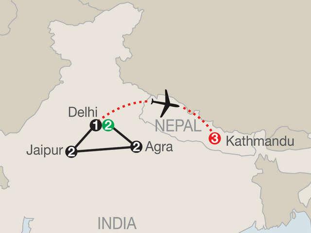 India Escape with Kathmandu