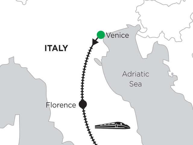 2 Nights Venice, 4 Nights Florence & 4 Nights Rome