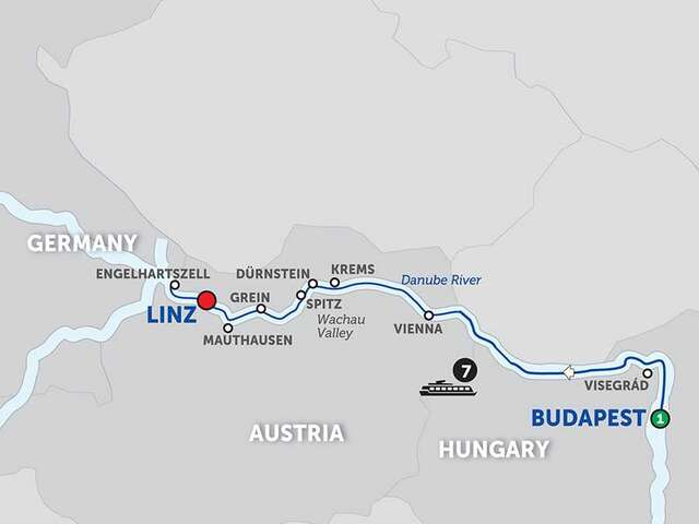 Active Discovery on the Danube – Westbound