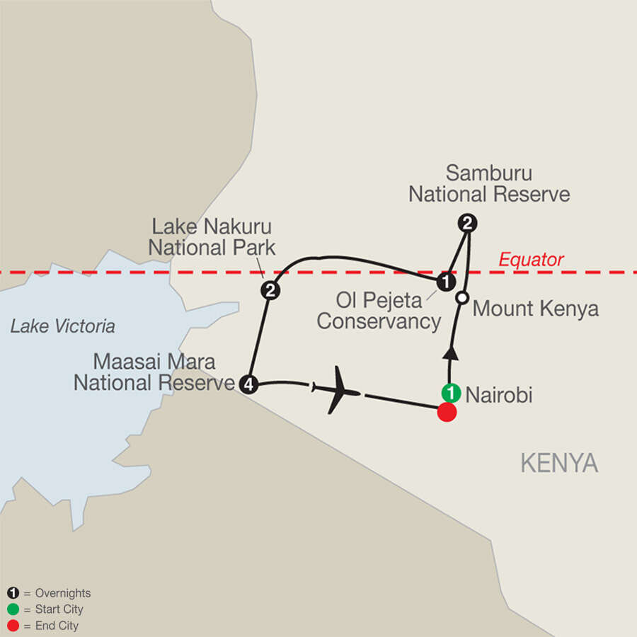 Kenya: A Classic Safari with Maasai Mara Extended Stay