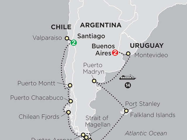 Cruising South America