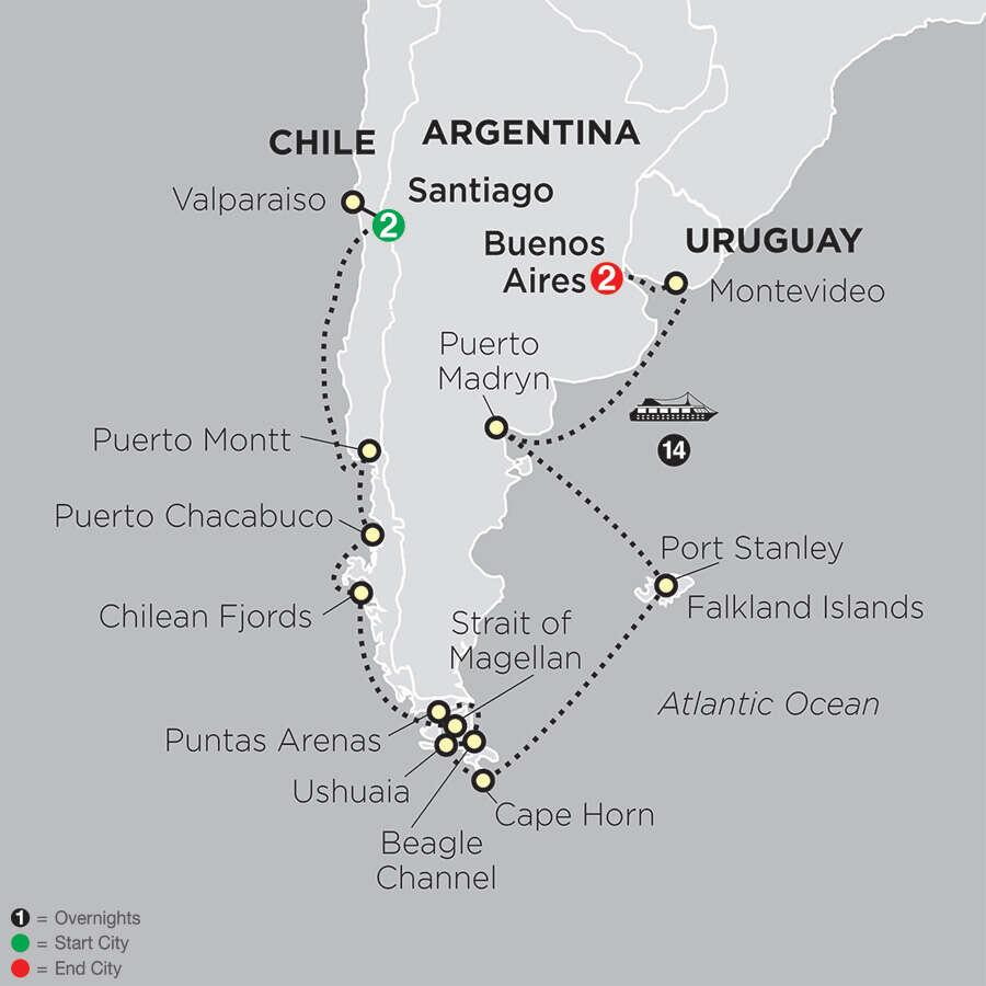 Cruising South America