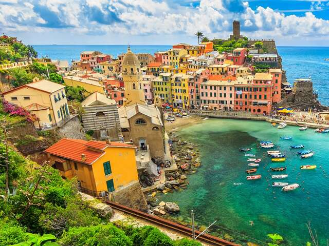Northern Italy Including Cinque Terre Summer 2019