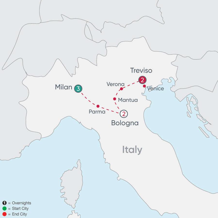 Northern Italy Explorer