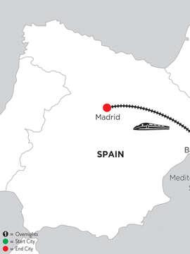 5 Nights Barcelona & 4 Nights Madrid