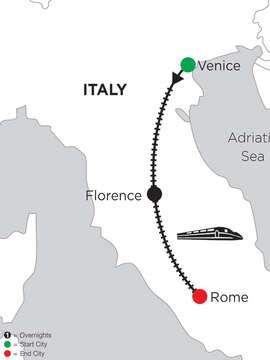5 Nights Venice, 4 Nights Florence & 4 Nights Rome
