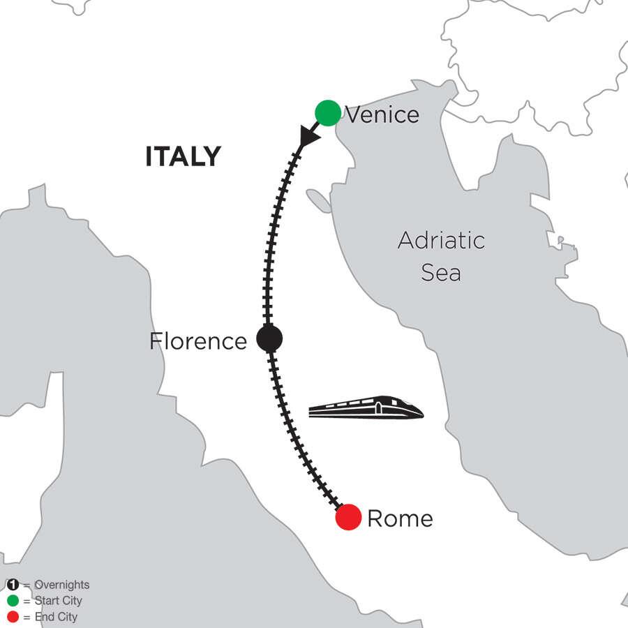 5 Nights Venice, 5 Nights Florence & 5 Nights Rome