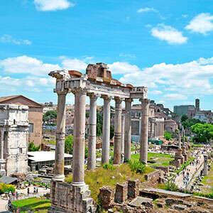 3 Nights Rome & 2 Nights Paris