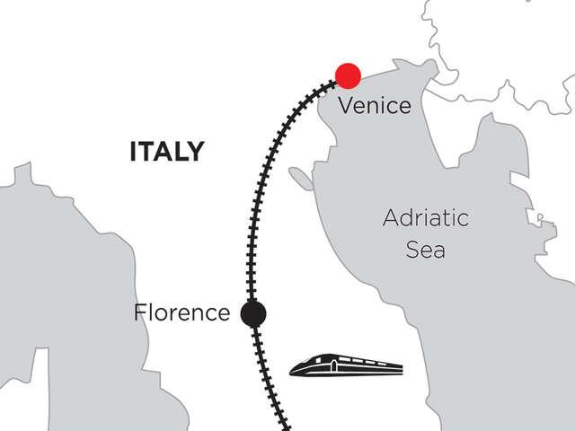 2 Nights Rome, 3 Nights Florence & 5 Nights Venice
