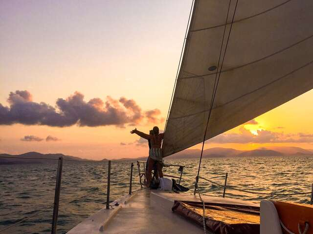 Beaches and Reefs with Sailing  (Start Sydney - From Apr 2019)(Multi Share,Start Sydney, End Cairns)
