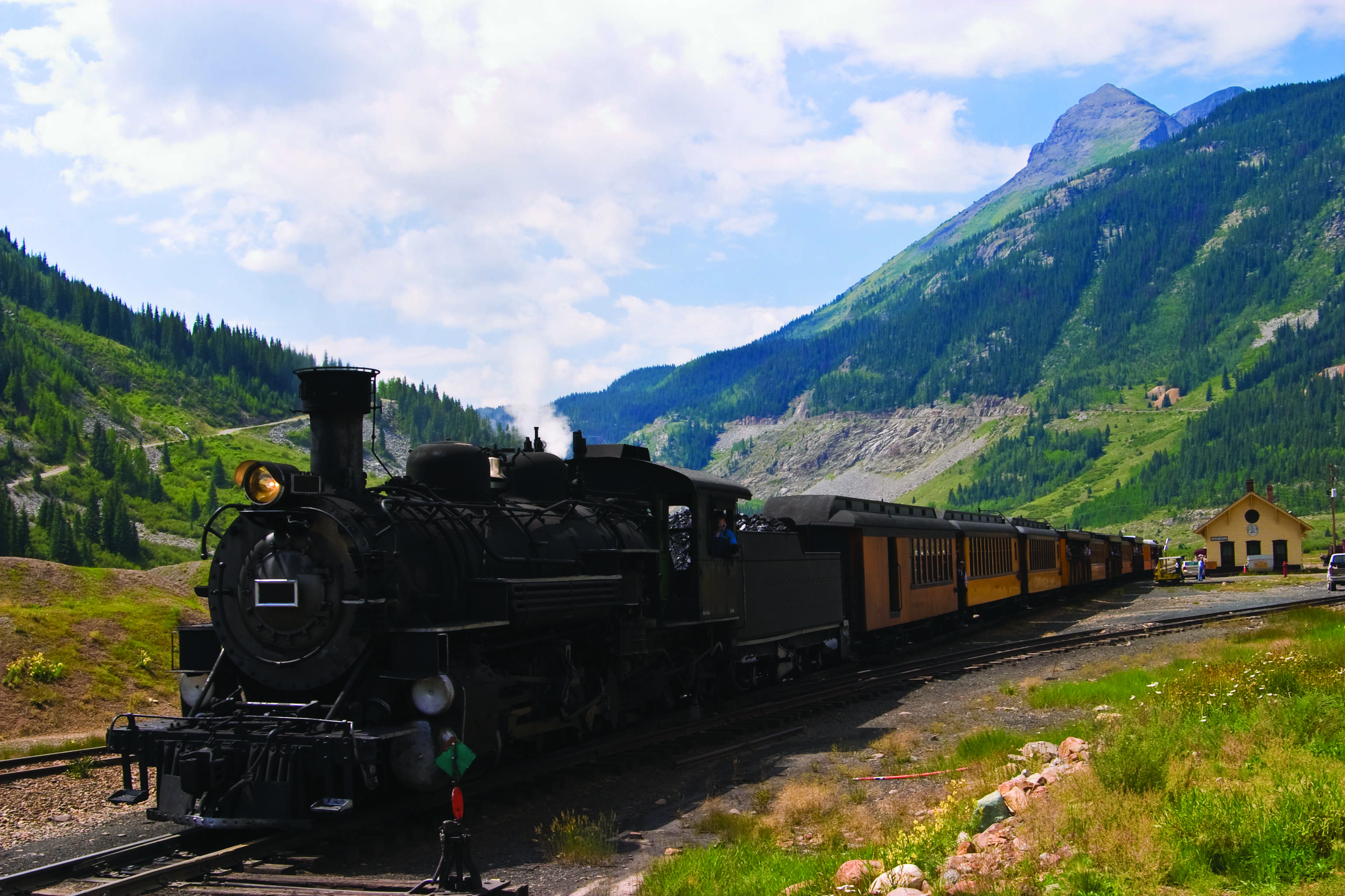 The Colorado Rockies featuring National Parks and Historic Trains